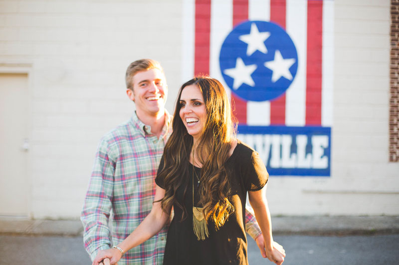 Creative Nashville Engagement Photos