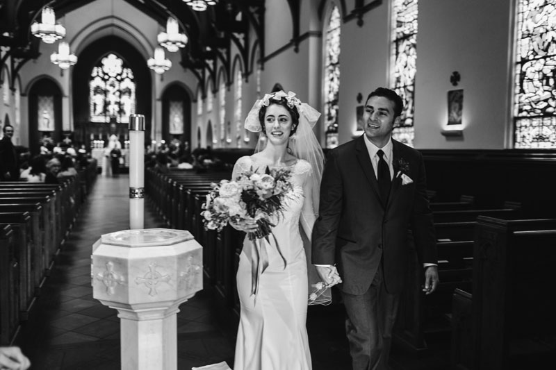 St. Mary's Catholic Church Wedding Greenville South Carolina