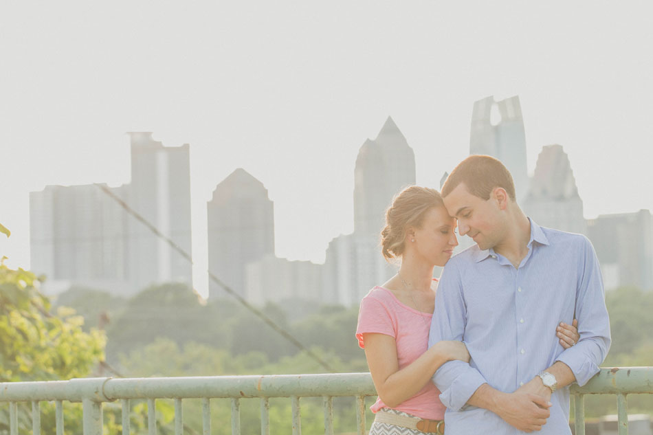 Atlanta Skyline Artistic Engagement