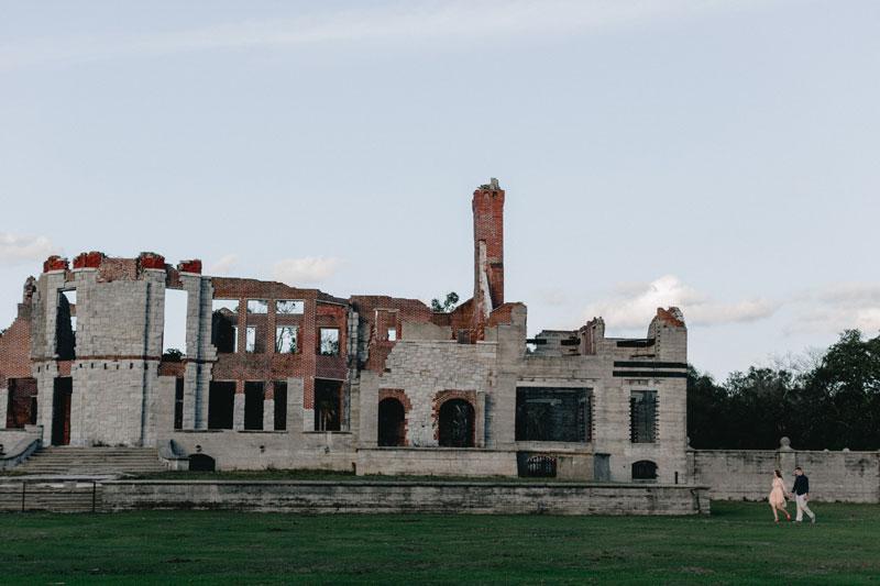 Cumberland Island Engagement dungeness ruins