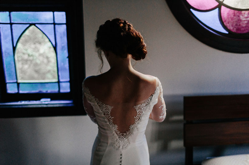 dark romantic wedding savannah